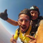 Parachutisme sur les Pyramides